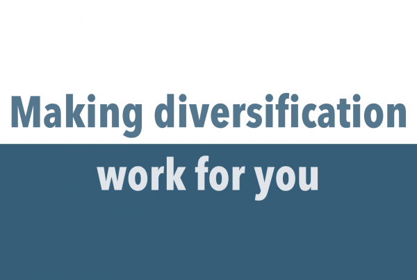 Making diversification work for you